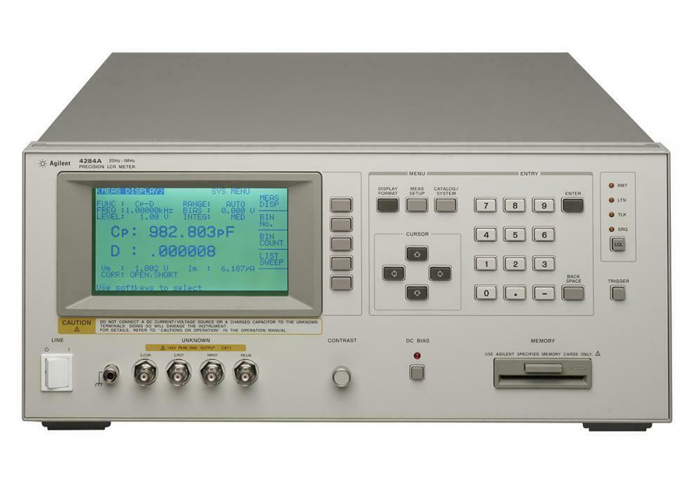 Keysight 4284A Precision LCR Meter, 20Hz - 1 MHz