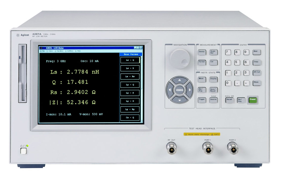Rent, Buy, or Lease the 4287A RF LCR Meter - Advanced Test Equipment Rentals | Call 1-800-404-ATEC(2832) for pricing…
