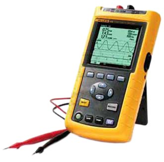 Fluke 43B 1-Phase Power/Harmonics Analyzer to 600V/500A