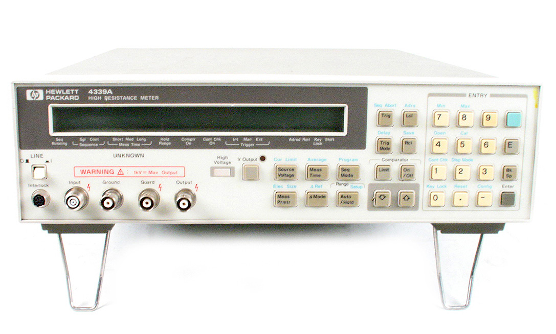 Keysight 4339A High Resistance Meter