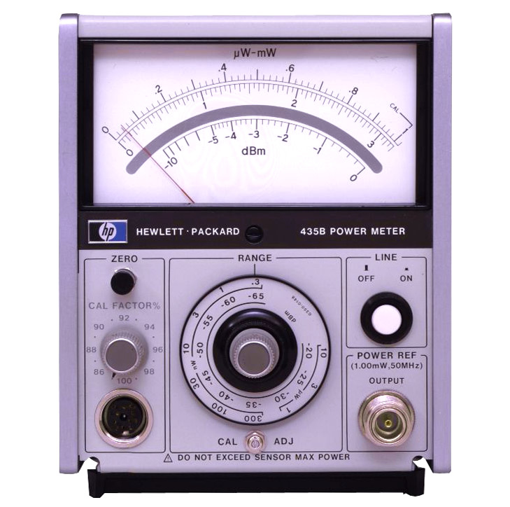 HP/Agilent 435B Analog Power Meter