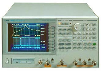 Keysight 4395A Time Gated VNA and Spectrum Analyzer
