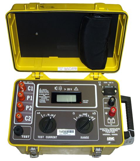 AEMC 4500 20k ohm 4 Point Ground Resistance Tester