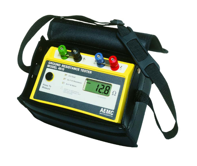 AEMC 4610 Ground Resistance Tester 10 ohms - 1999 ohms