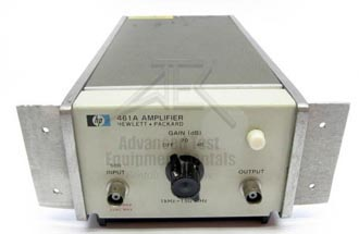HP/Agilent 461A Amplifier 1 kHz to 150 MHz