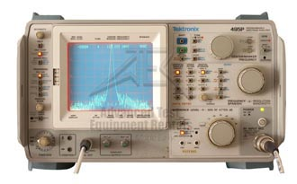 Tektronix 495P Spectrum Analyzer, 100 Hz - 1.8 GHz