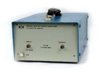 ENI/E&I 510L RF Power Amplifier 1.7 MHz - 500 MHz, 9.5 Watts