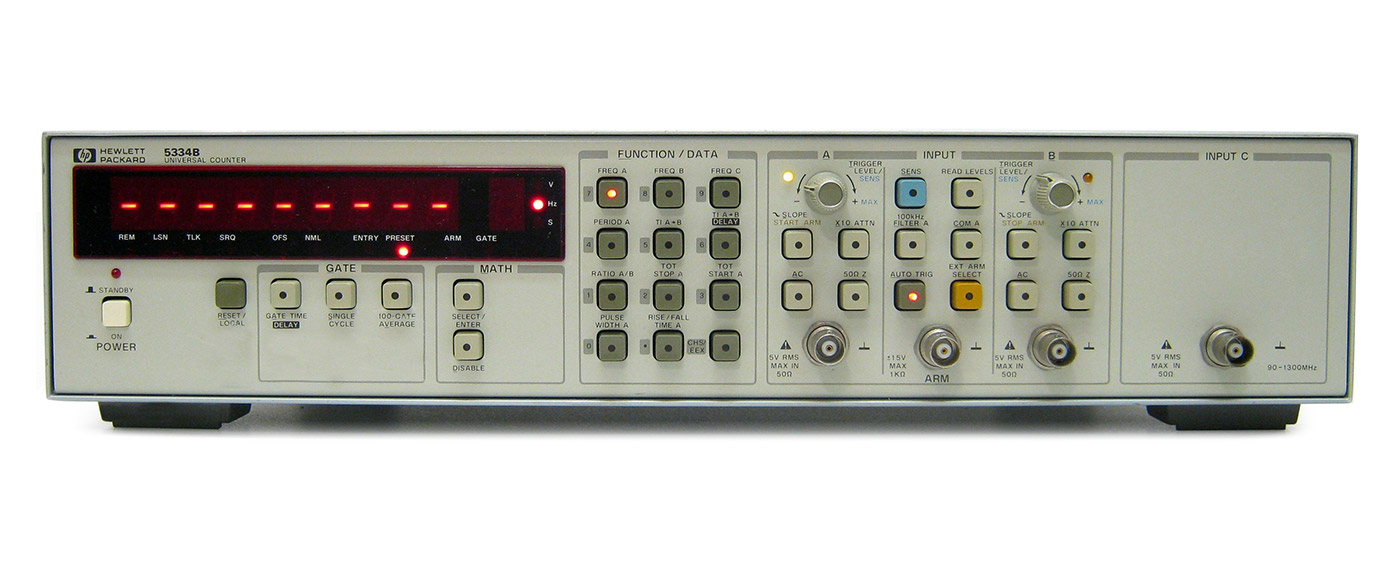 Keysight 5334B Universal Counter, 100MHz - 1.3GHz