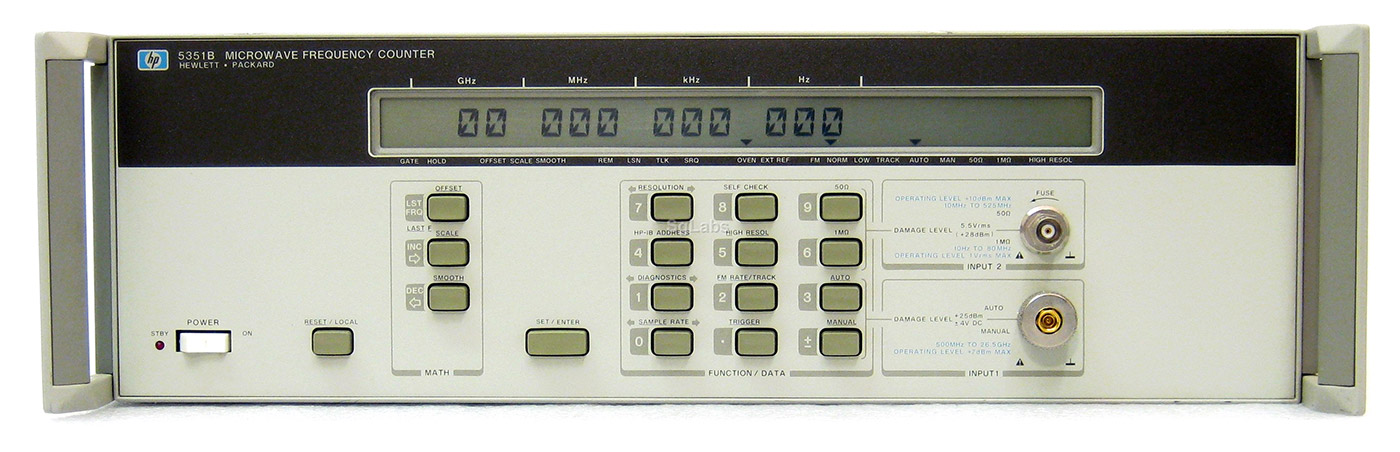 HP/Agilent 5351B Microwave Frequency Counter