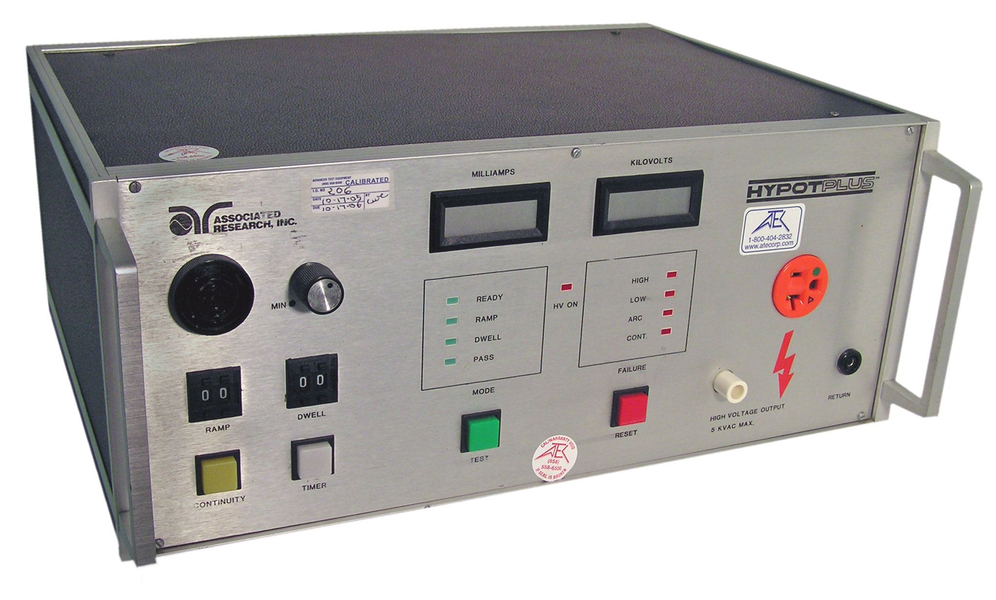 Associated Research 5400DT HypotPLUS AC Dielectric Withstand Tester