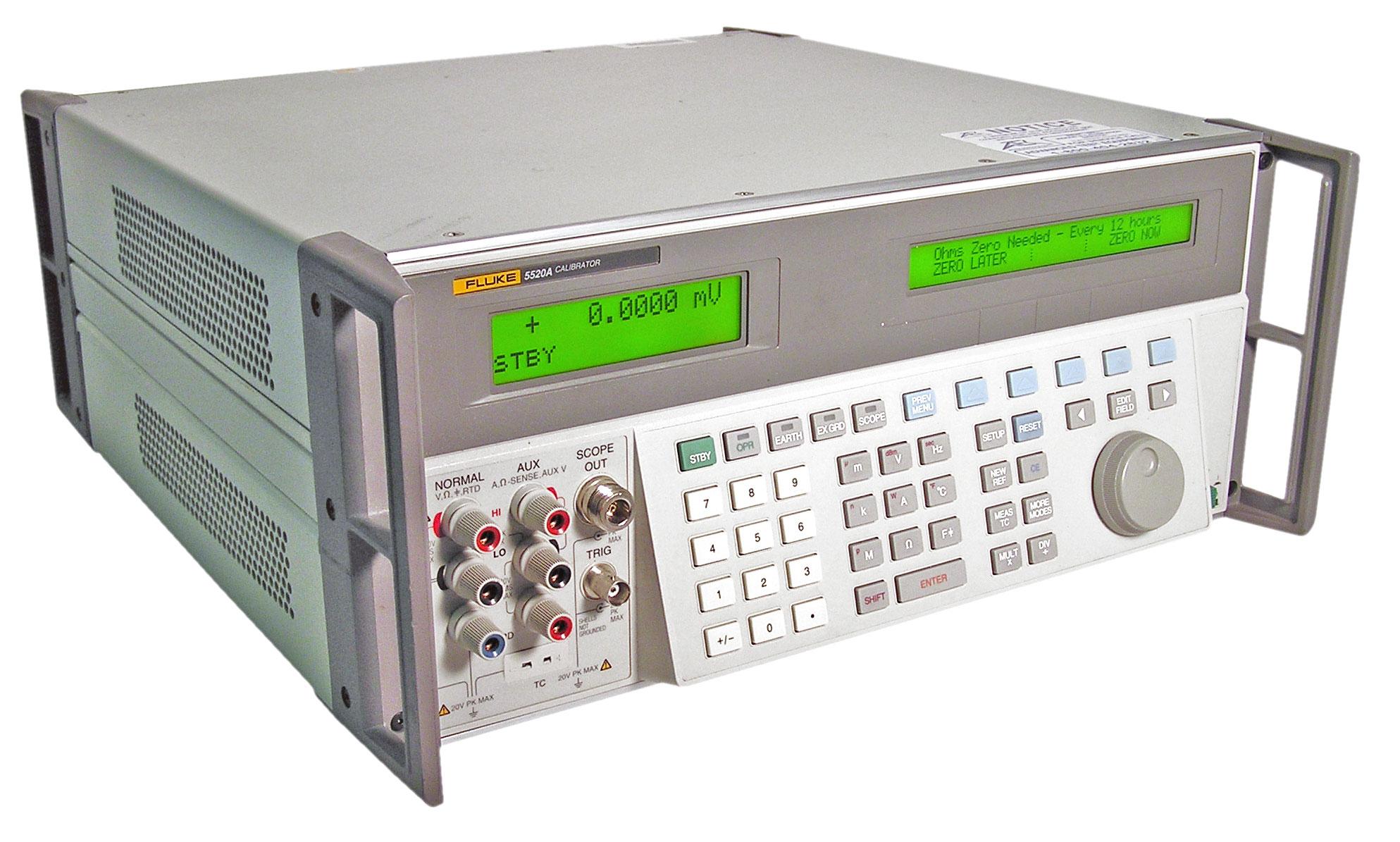 Fluke Calibration 5502A Electrical Calibrators | ATEC Rentals