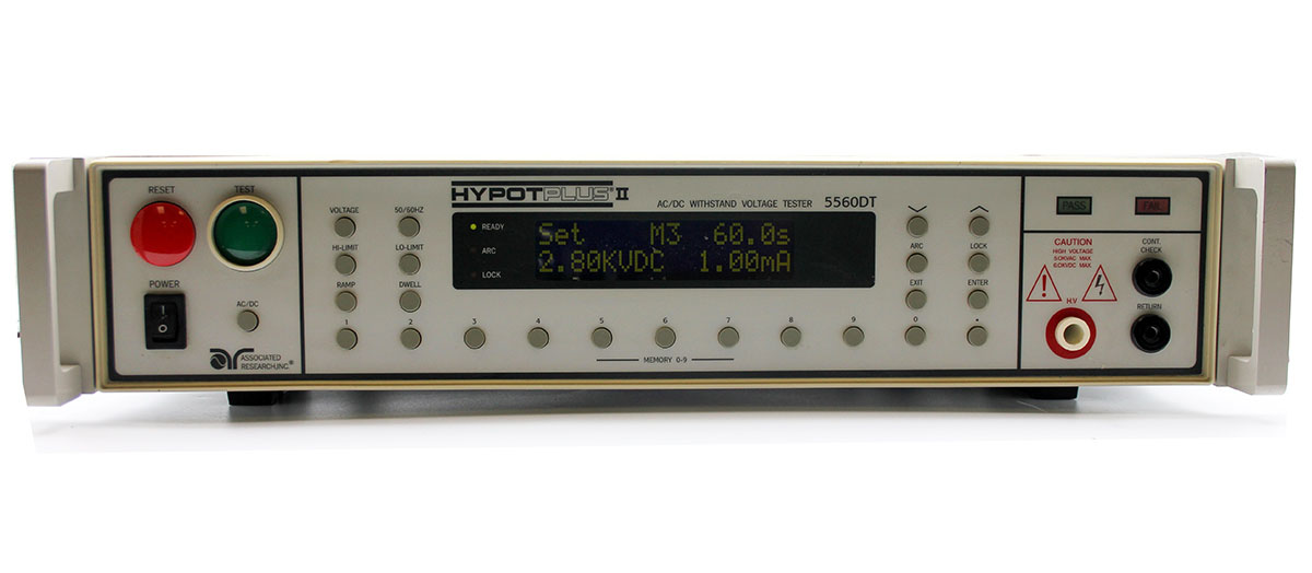 Associated Research 5560DT Hypot PLUS Dielectric Withstand Tester