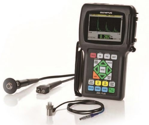 Olympus 38DL PLUS Ultrasonic Thickness Gauge