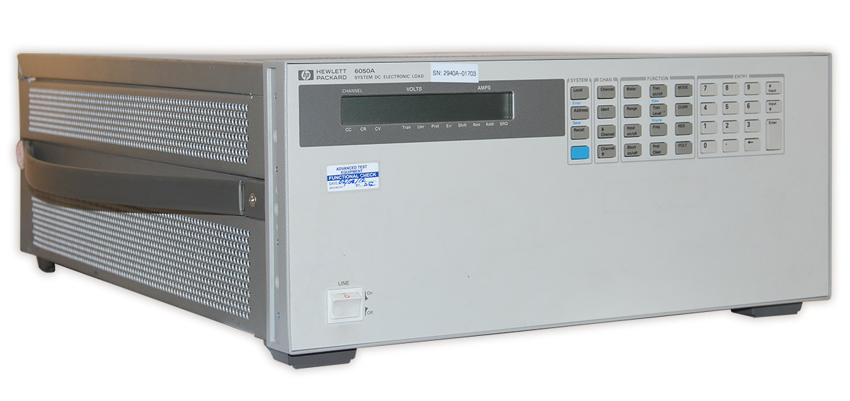 Keysight 6050A DC Electronic Load Mainframe 1800 W
