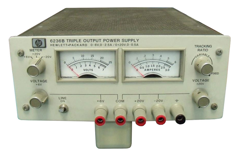 Keysight 6236B Triple DC Output Power Supply