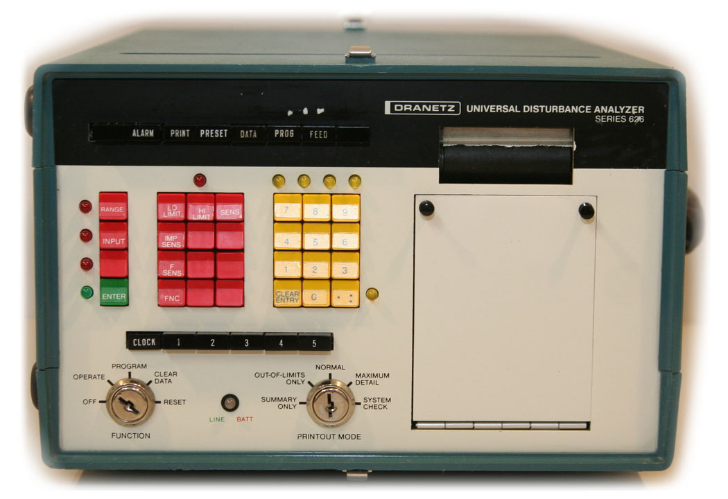 Dranetz 626A Universal Disturbance Analyzer