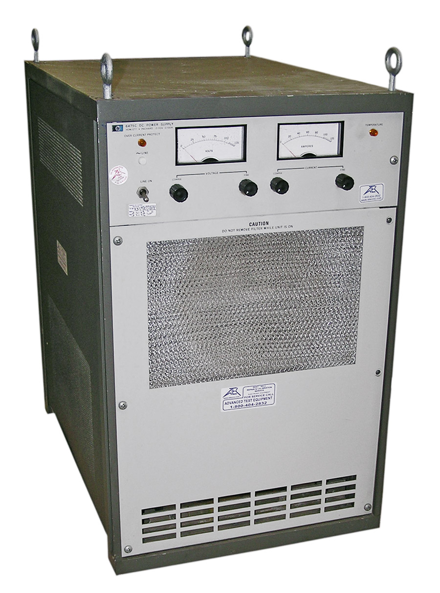 Rent HP Agilent 6464C DC Power Supply 8 Volt, 1000A