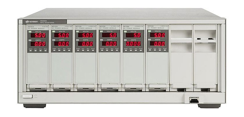 Keysight 66000A Modular Power System for DC Modules