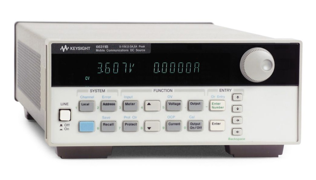 Keysight 66311B Mobile Communications DC Power  Source