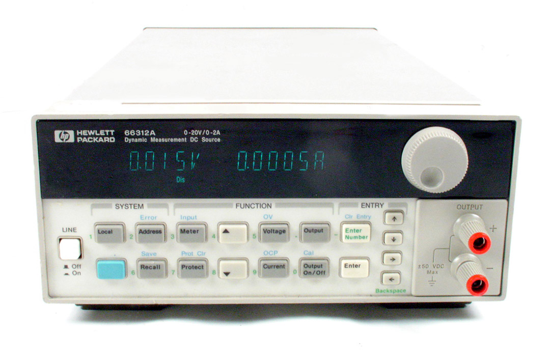 HP/Agilent 66312A 40W Dynamic Measurement