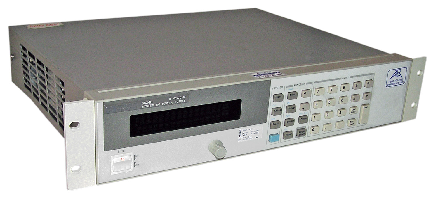 HP/Agilent 6634B System DC Power Supply regulated 80-100 W