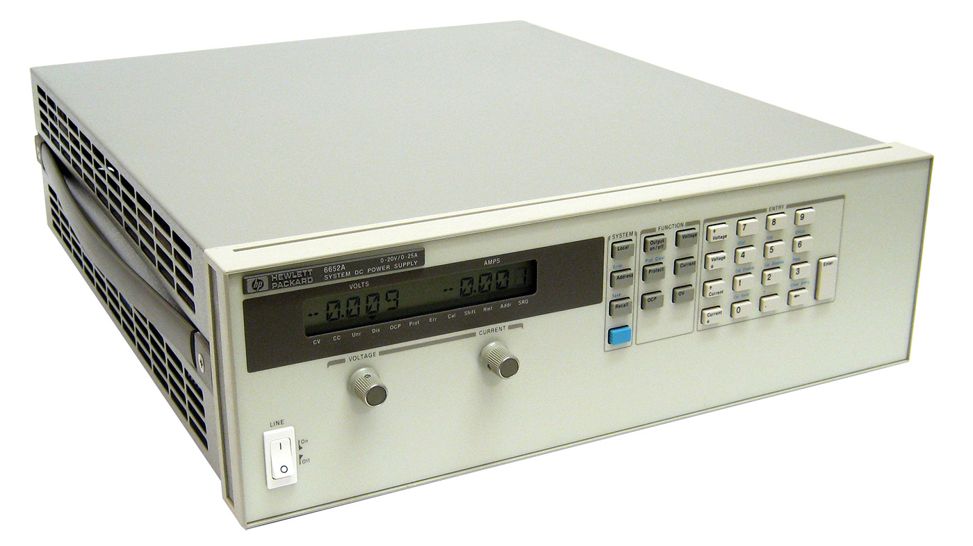 HP/Agilent 6652A 500W System Power Supply