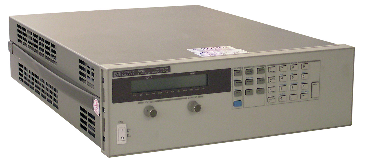 Keysight 6675A 2000 Watt DC Power Supply 120 Volt 18 Amp