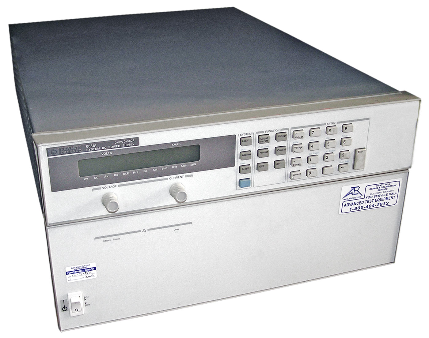 HP/Agilent 6681A 5000W DC Power Supply