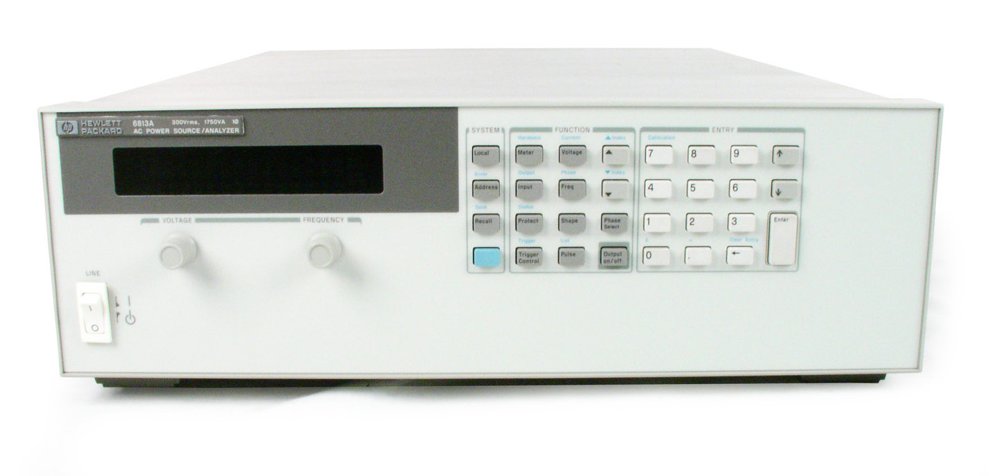 HP/Agilent 6813A AC Power Source Analyzer
