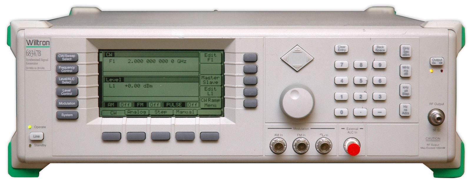 Rf Signal Generators Atec Rentals Programmable Levels High Speed Pulse Generator Anritsu 68347b Sweep 10mhz To 20ghz