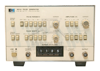 Keysight 8011A Pulse Generator, 0.1Hz - 20MHz