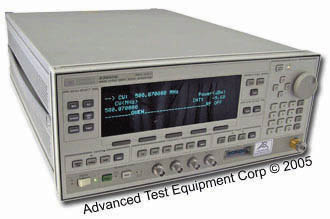 HP/Agilent 83650B Synthesized Swept CW Generator 10 MHz to 50 GHz