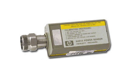 HP/Agilent 8481A RF Power Sensor 10 MHz -18 GHz