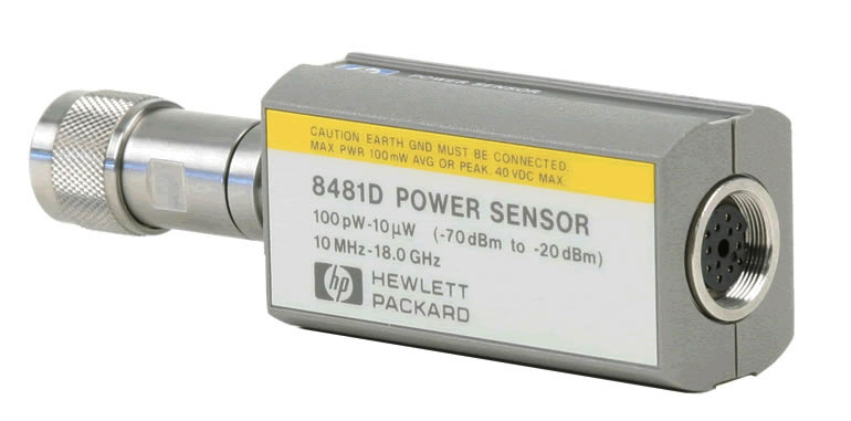 Keysight 8481D Diode Power Sensor 10 MHz to 18 GHz