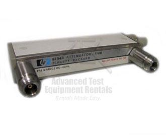 HP/Agilent 8494A Step Attenuator