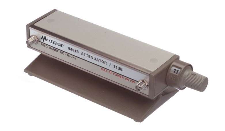 HP Agilent 8494B-002 Step Attenuator, DC - 18 GHz