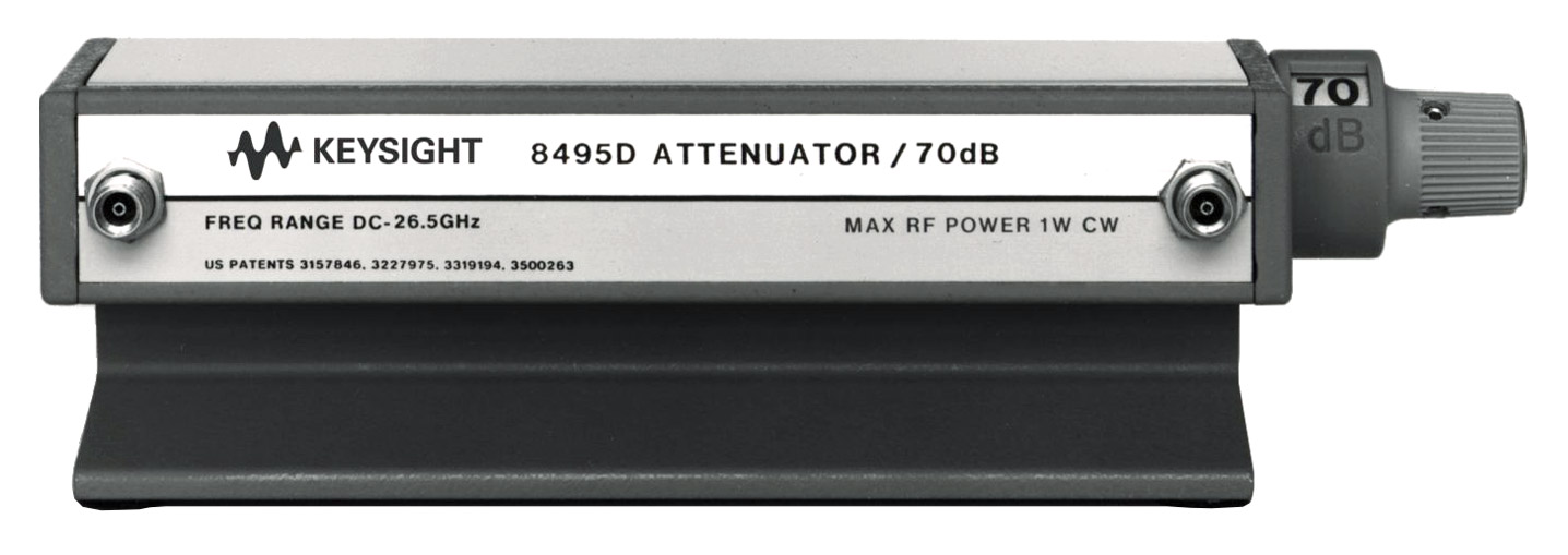 Keysight 8495D Manual Attenuator