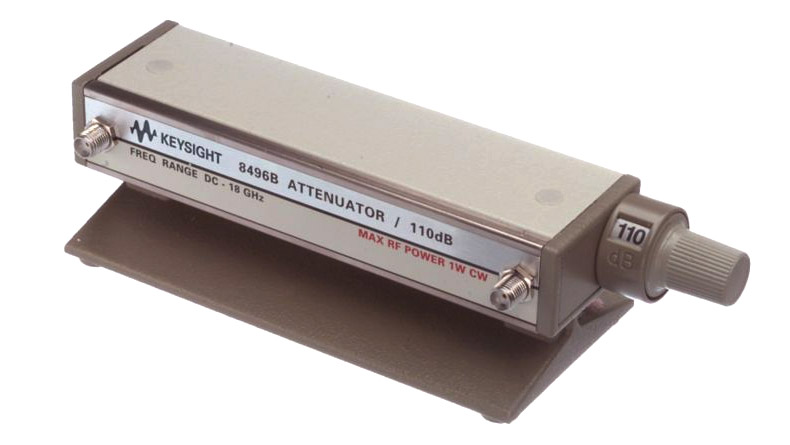 HP/Agilent 8496B Step Attenuator, 10dB Steps, 50 ohm Type N female Connectors