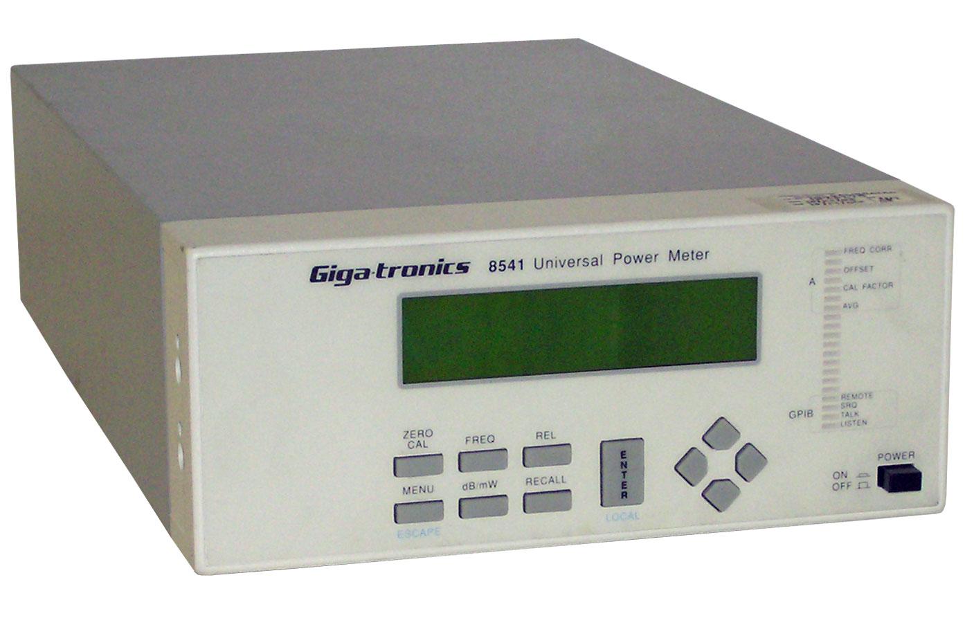 Giga Tronics Test Equipment Rentals Atec Gt Circuit Breakers Transformers 8541 Universal Power Meter