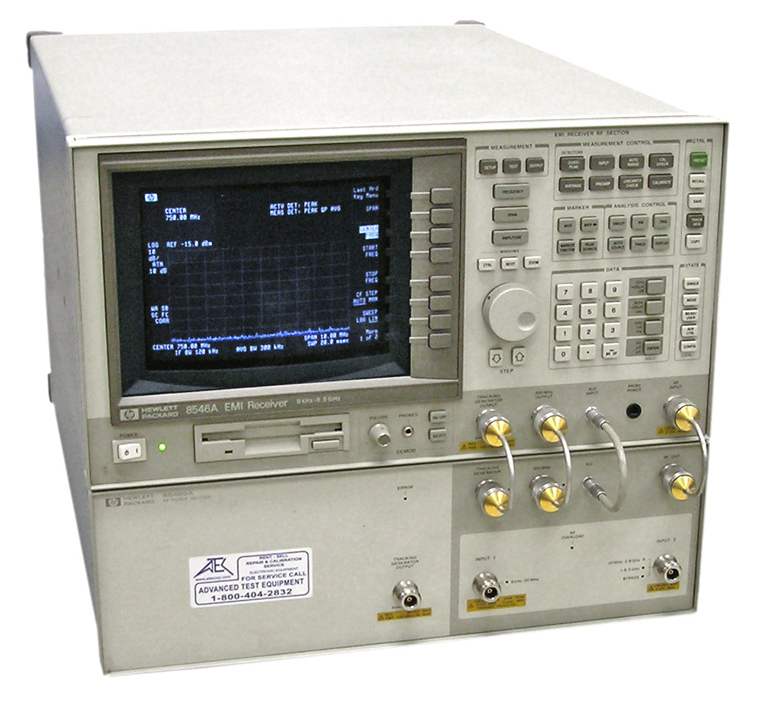 Agilent 8546A EMI Test Receiver