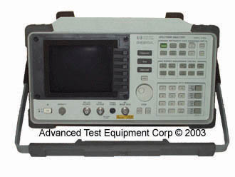 HP Agilent 8590A RF Spectrum Analyzer