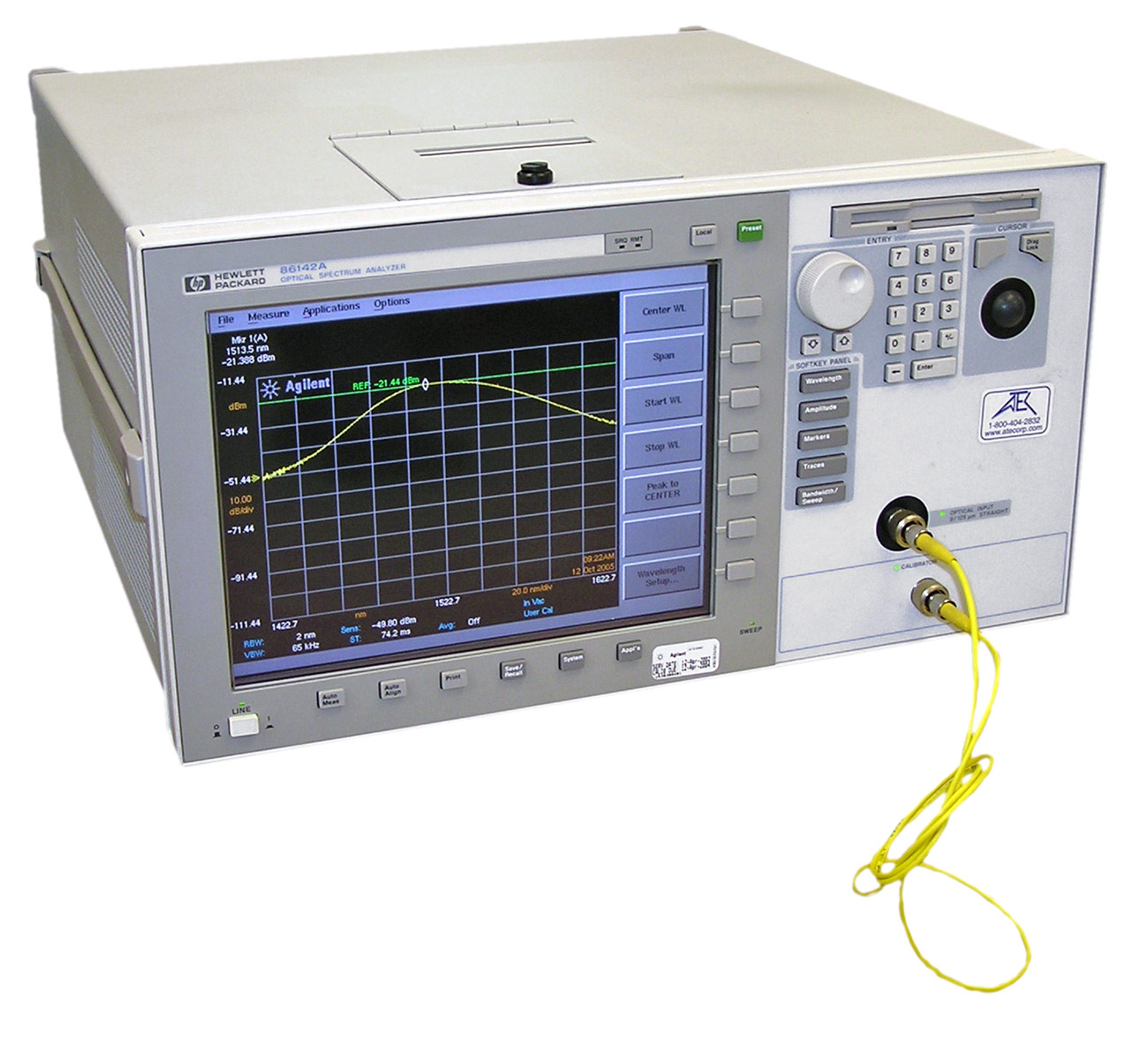 Keysight 86142A Lightwave Optical Spectrum Analyzer