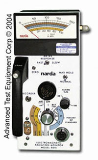 Narda 8616 System Radiation Monitoring System