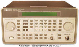 Keysight 8647A Synthesized Signal Generator