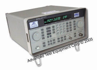 HP/Agilent 8648A Synthesized Signal Generator