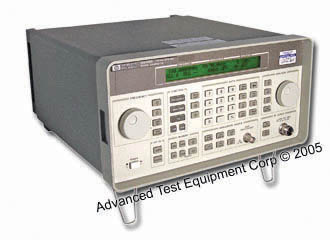 HP/Agilent 8648B-1EA 9kHz-100kHz-2GHz Synthesized RF Signal Generator w/High Power