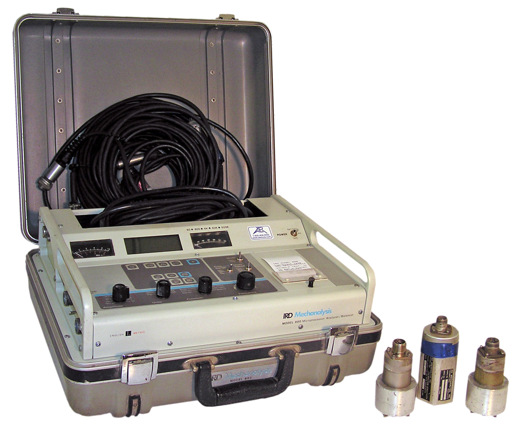 IRD 880 Portable Vibration Analyzer/Balancer