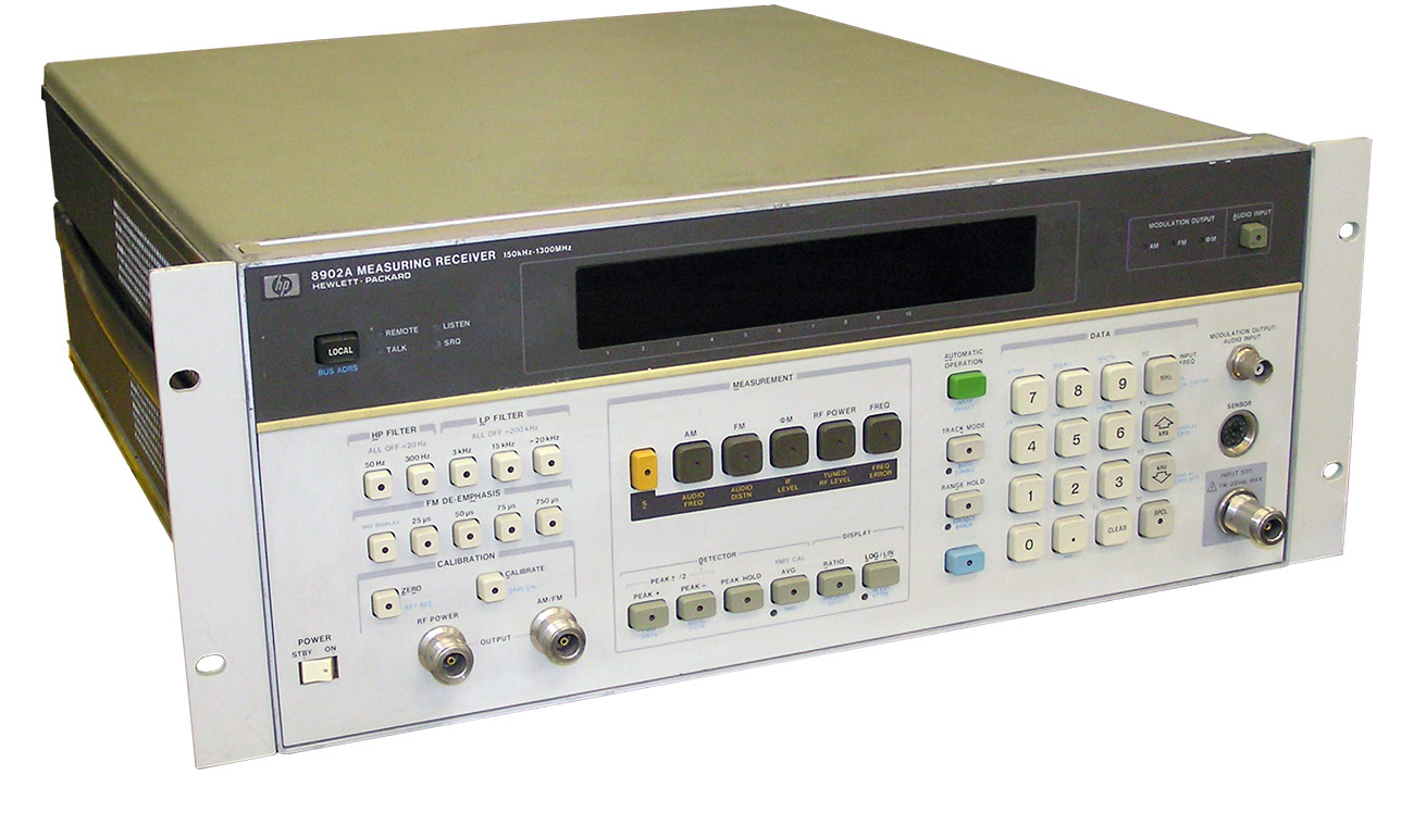 Keysight 8902A Measuring Receiver