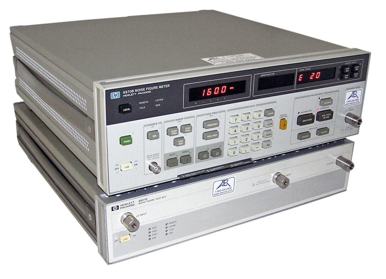 NTS-1000B | Aeroflex Noise Figure Analyzers |    | ATEC Rentals