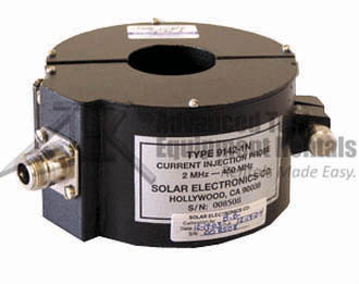 Solar 9142-1N Bulk Current Injection Probe, 2 MHz - 450 MHz